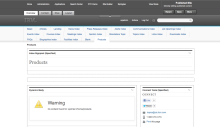 "The end result is that we can now, in portal admin, see the ""Products"" template alongside the other page templates."